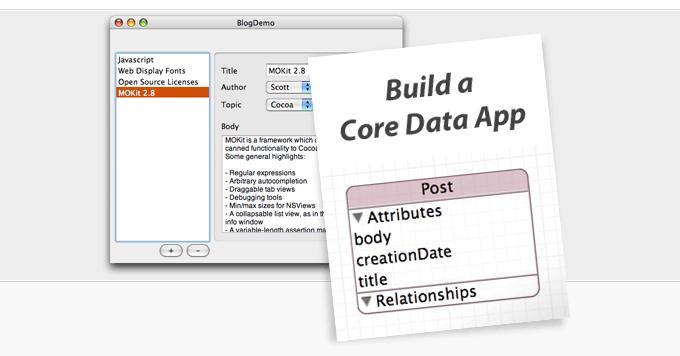 Cocoa Dev Central: Build a Core Data Application