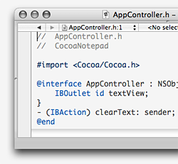 how to create a class in objective c